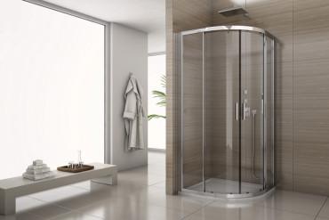 Sanswiss Salia: kabina prysznicowa 90 x 90 cm