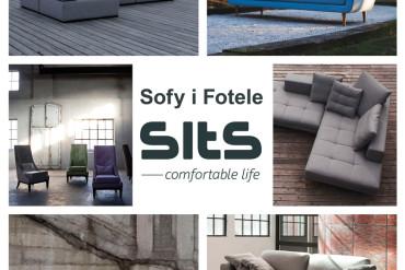 Sofy i fotele Sits 15% taniej