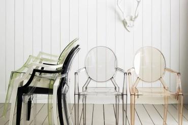 Krzesło Louis Ghost Kartell