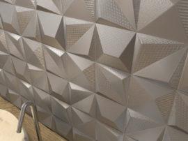 Dune Multishapes / Shapes - płytki trójwymiarowe, aranżacja