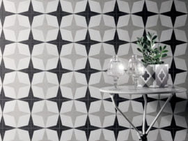 Fioranese Cementine Black-White
