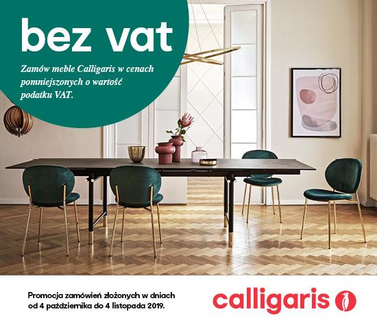 Calligaris taniej o VAT