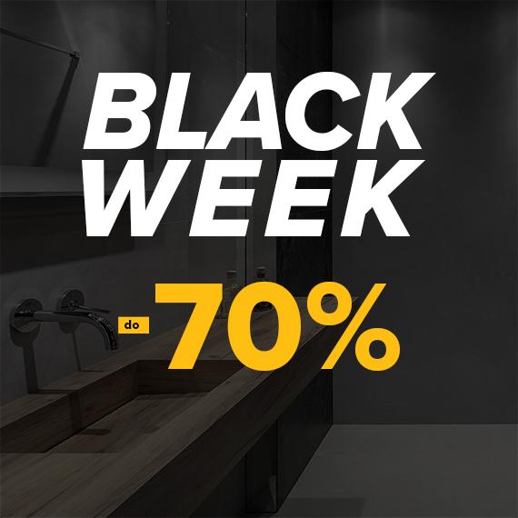 Black Week – płytki, łazienki