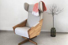Liu Swivel- fotel