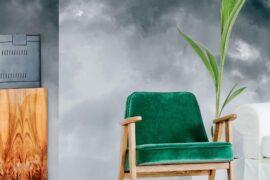 Watercolor Ombre Storm