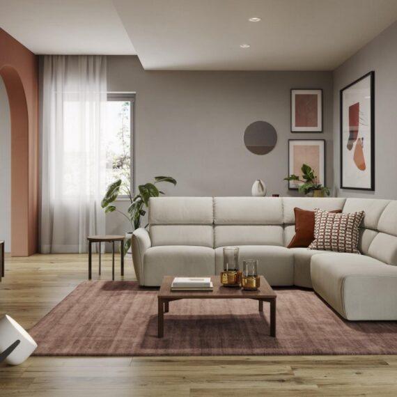 Nowe komfortowe meble wypoczynkowe marki Natuzzi