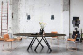 Forest oval- stół